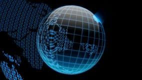 Глобус цифров бесплатная иллюстрация