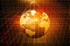 Глобус цифров Стоковые Фото