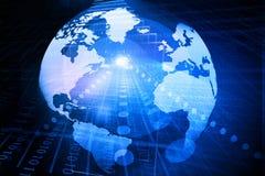 Глобус цифров Стоковое Изображение RF