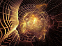 Глубина внутренней геометрии Стоковое Изображение