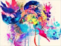 Глубина, различная, фантазия, шикарный, хорошая Стоковая Фотография RF