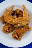 Глубокая жареная курица Стоковые Фото