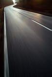 глубокая дорога пущи Стоковые Фотографии RF