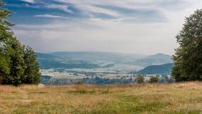 Глубокая панорама долины Стоковые Фото