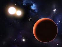 Глубокий космос Стоковая Фотография