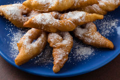 Глубоко зажаренное венгерское печенье стоковое изображение