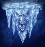 Глубоко - замораживание иллюстрация вектора