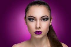 Глубоко - фиолетовое фото Стоковая Фотография