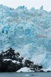 Глушь морского ландшафта поверхности воды ледникового льда акватическая Стоковые Фотографии RF