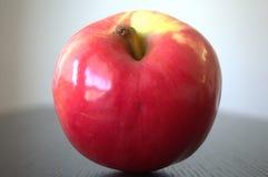Глянцеватое красное яблоко Стоковое фото RF