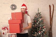 Давать и обмен подарка стоковая фотография rf