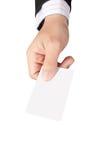 Давать названную карточку Стоковая Фотография RF