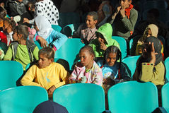 Давать образование плохим детям в Египте Стоковые Фото