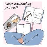 давать образование содержанию себя иллюстрация штока