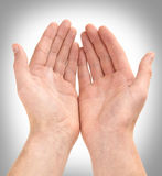 давать руки Стоковые Фото