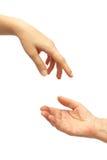 давать руку Стоковые Фотографии RF