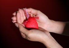 давать сердце Стоковые Изображения RF