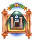 Давать Torah 6 shavuot Стоковое фото RF