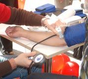 давление измерения крови Стоковое Изображение