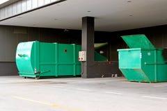 давление контейнера гидровлическое Стоковая Фотография