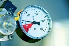 давление метра Стоковое Фото