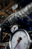 давление метров Стоковое Фото