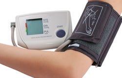 давление монитора крови Стоковые Изображения