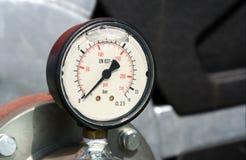 давление по манометру Стоковое Фото