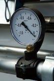 давление по манометру Стоковая Фотография RF