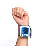 давление прибора крови измеряя стоковое изображение