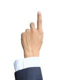 давление руки Стоковая Фотография RF