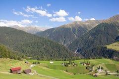 ¼ Давос-Wiesen Graubà nden взгляд Швейцарии в лете Стоковая Фотография