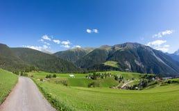 ¼ Давос-Wiesen Graubà nden взгляд Швейцарии в лете Стоковые Фото