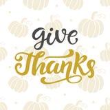 Дайте спасибо Литерность официальный праздник в США в память первых колонистов Массачусетса иллюстрация штока