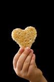 дали хлебом, котор часть влюбленности Стоковая Фотография RF