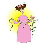 Дама Весна Стоковые Изображения