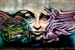 Дама в стене Стоковое Фото