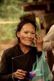 Дама в Lao Стоковые Изображения RF