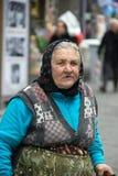 Дама Неаполя Стоковое фото RF