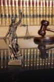 Дама Правосудие стоковое изображение