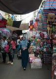 Дама уличный рынок, Гонконг Стоковая Фотография