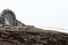 Дама Mary на Col de Ла Bonette, морских Альпах, Франции Стоковое Фото