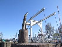 Дама Stavoren на набережной гавани Стоковое Изображение RF