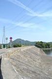 Дамба реки стоковое изображение rf