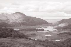 Дамы осматривают, национальный парк Killarney; Керри графства; Ирландия Стоковое Изображение