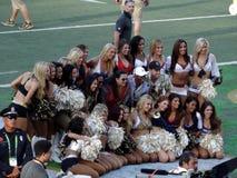 Дамы чирлидера представляют для фото после игры ProBowl Стоковое Изображение RF