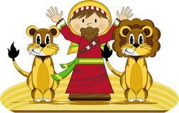 Даниель и львы Стоковое фото RF