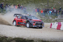 Даниель Sordo, Motorsport Hyundai Стоковое фото RF