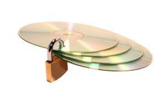 данные защищают Стоковые Изображения RF
