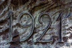 Данные на повстанцах памятника силезских Стоковое фото RF